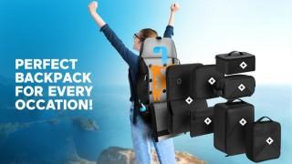 モジュールを組み替えるバックパック「Xpedition(エクスペディション)」日本上陸