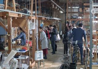 工房や工場などモノづくりの現場を直接見ることができるイベント「Design Week Kyoto」