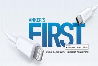 Anker、USB-CポートとLightningデバイスを繋げるMFi認証取得のケーブル新発売