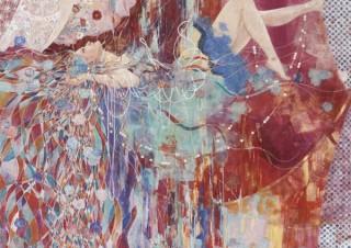 西武渋谷店の春の全館PRのアーティストに起用されている三鑰彩音氏の作品展「jamais vu」