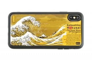 電子技販、「葛飾北斎 神奈川沖浪裏」が描かれた基板アートのiPhoneケースを発売