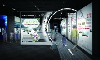 三菱みなとみらい技術館が新たなテーマ展示空間の「MHI FUTURE GATE」をオープン