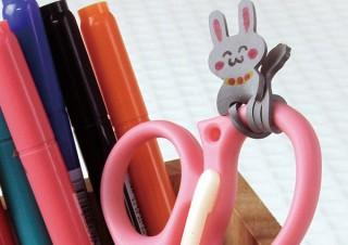共和、油性ペンで顔を描き込むこともできる可愛いデザインの輪ゴム「Qutto ウサギ」を発売