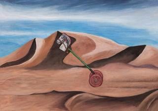 """架空の画家への""""擬態""""という一風変わった趣向でのユアサエボシ氏の個展「プラパゴンの馬」"""