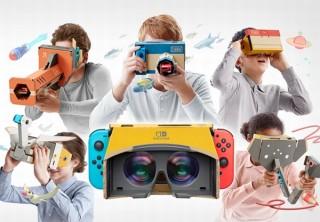任天堂、Nintendo Switchで遊べる段ボール組み立ての「VRキット」発表