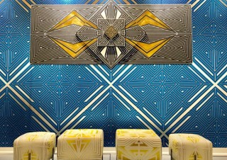 マスキングテープで壁面にアートを制作・展示するフレックス氏の作品展示会「Defero」