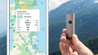 スマホと連動して大気汚染を検知する、パトロールデバイス「Atmotube PLUS」