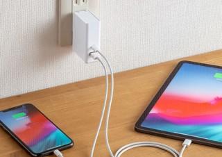 サンワサプライ、USB Type-Cポートを搭載したUSB充電器を発売