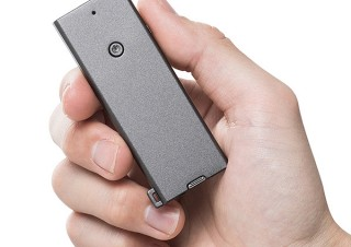 サンワサプライ、薄さ4.5mm財布に収納できるレーザーポインター発売