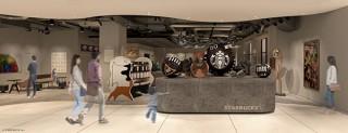 スターバックスがアート作品も楽しめるアトリエのような店舗「京都BAL店」をオープン