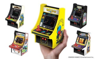 一気に5機種が登場! アーケード筐体型のミニゲーム機「レトロアーケード」