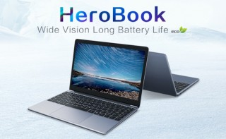 CHUWI、薄型軽量で狭額ベゼル採用の14.1型ノートPC「HeroBook」を発売