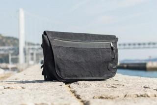 タケヤリ、強力な撥水効果を持つタイガー帆布メッセンジャーバッグを発売