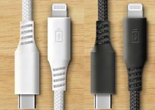 色・長さ・価格・性能から選ぶ、自分好みのLightningケーブル「USB Type-C & Lightning USBケーブル」発売