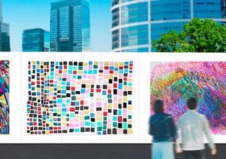 """建設現場の仮囲いを""""街のソーシャル美術館""""としてデザインする「全日本仮囲いアートプロジェクト」"""