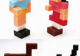 立方体の6面全部がくっつき、想像力で無限に作品を生み出せるブロックトイ「ピクラ」