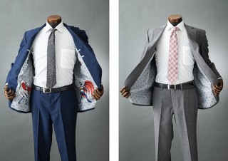 SADA、科学忍者隊ガッチャマンの裏地オーダースーツ限定200着発売
