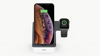 ベルキン、Apple WatchとiPhoneを同時充電できるドック発売