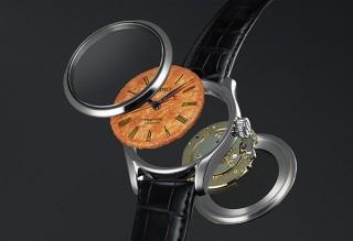 セイコーウオッチ、煎餅と融合させて文字盤を海苔で表現した腕時計を4月1日に発売!?