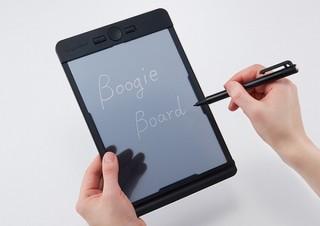 半透明液晶にすらすら書ける!キングジムの電子メモパッド「ブギーボード」に新モデル