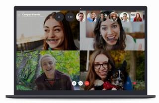 Skypeの最新版、一度に最大50人で一斉に通話することが可能に
