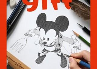 100人以上の漫画家が描きおろした、ディズニー公式イラスト集「gift」発売