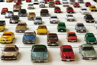 """""""移動は文化""""をテーマに約4000点の資料を展示するトヨタ博物館の「クルマ文化資料室」"""