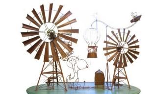 """スヌーピーを""""サイエンス""""を通して表現したアート展「SNOOPY FANTARATION」"""