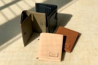 チプレッソ(糸杉)の香り漂う、機能的な極小ウォレット「AROMA Folding Purse」発売