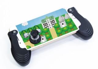 上海問屋、スマホを携帯型ゲーム機のように変えるジョイスティックタイプのアタッチメントを発売