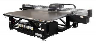 ミマキエンジニアリングが大型フラットベッドUVインクジェットプリンタ「JFX200-2513 EX」を発売