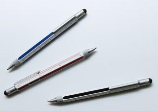 ペンに定規や水平器、ドライバーなどの工具(ツール)機能を追加した「ツールペン」に新色