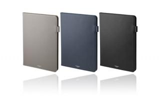 GRAMAS COLORS、サフィアーノのような質感のPUレザーを採用したiPadケースを発売