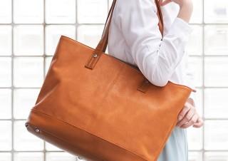 サンワサプライ、仕事とプライベートで利用できるPUレザーのトートバッグ発売