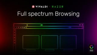 Webブラウザ「Vivaldi」の最新版でWebページの色に合わせて入力機器のラインティングが変わる!
