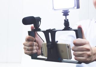 上海問屋、スマホで本格的な動画撮影が可能となる5点セットを発売
