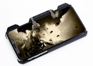 上海問屋、トリガーボタン付きのゲーミングiPhoneケースを発売