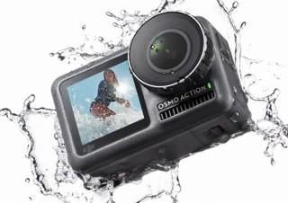 DJI、2画面・手ぶれ補正・8倍スロー動画機能搭載のアクションカメラ「OSMO ACTION」発表
