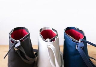 タケヤリ、特厚帆布使用で丈夫なラウンドショルダーバッグを発売