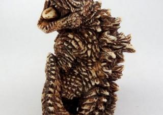 キャラアニ、ゴジラ映画最新作に登場する怪獣たちの根付を発売