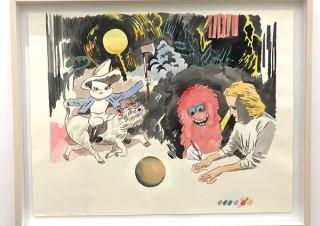 3人の実力派アーティストが参加した新時代の絵画の潮流を考察するグループ展「Grand Menu」