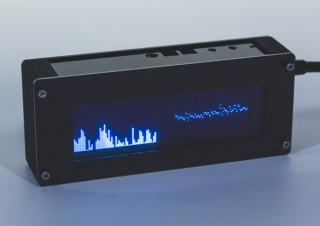 上海問屋、USB電源で動作するオーディオ用VFDスペクトラムアナライザーを発売
