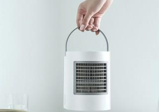 ソウイ、軽量710gで卓上サイズのコンパクト冷風扇を発売