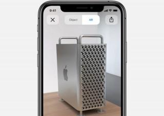 話題のモンスターおろし金パソコン「Mac Pro」をどう置くかを検討できる「ARモデル」公開