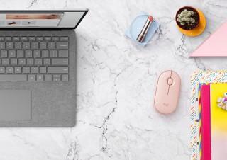 可愛らしいデザインの薄型ワイヤレスマウス「ロジクール Pebble M350」が登場