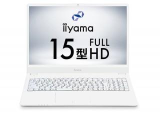 iiyama PC、15型スリムコンパクトノートPCに新色ホワイトとレッドを追加