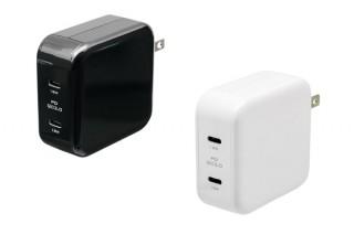 オウルテック、USB Type-Cポートを2口備えたPD対応充電器を発売