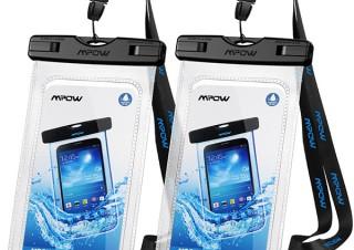 Patazon、スマホを水から守るストラップ付きIPX8認定防水ケースMPOWを特別価格で販売