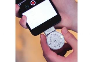 iPhoneに3D録音機能を実装する、高性能ポータブルマイク「Lolly」