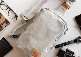 タケヤリ、130年の老舗技術を採用した特厚シャンブレー帆布 ワンショルダーバッグを発売